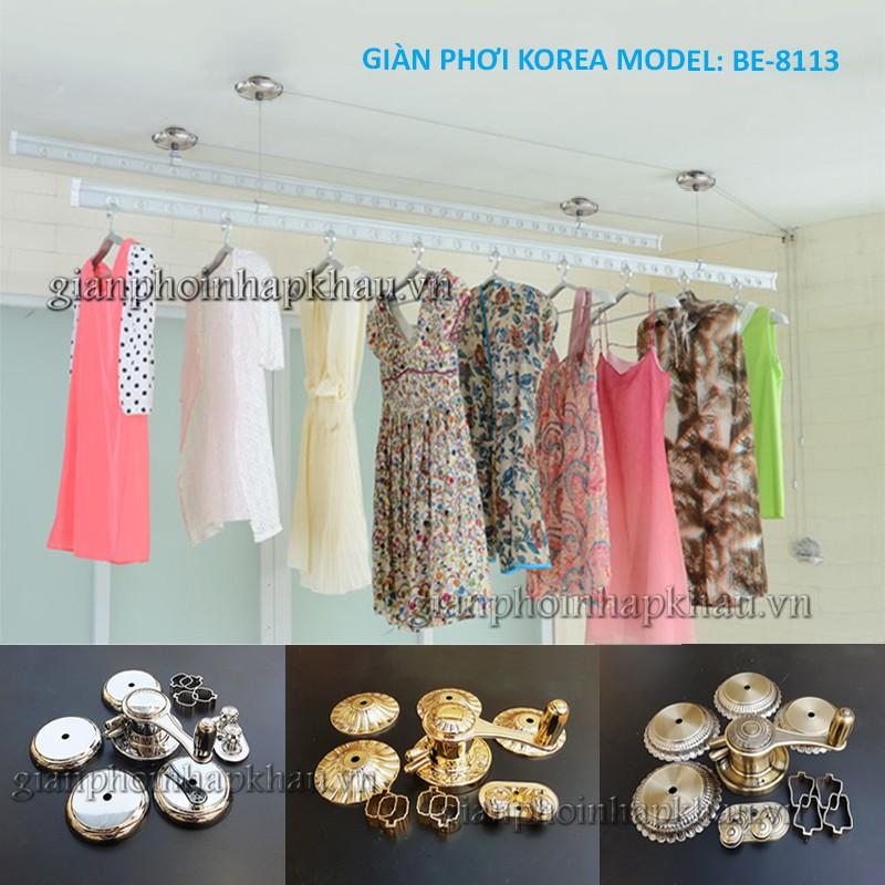 Giàn phơi Hàn Quốc model BE-8113