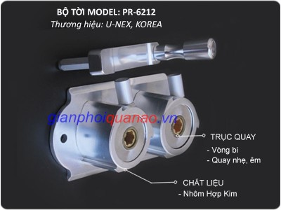 Giàn phơi Hàn Quốc model PR-6212